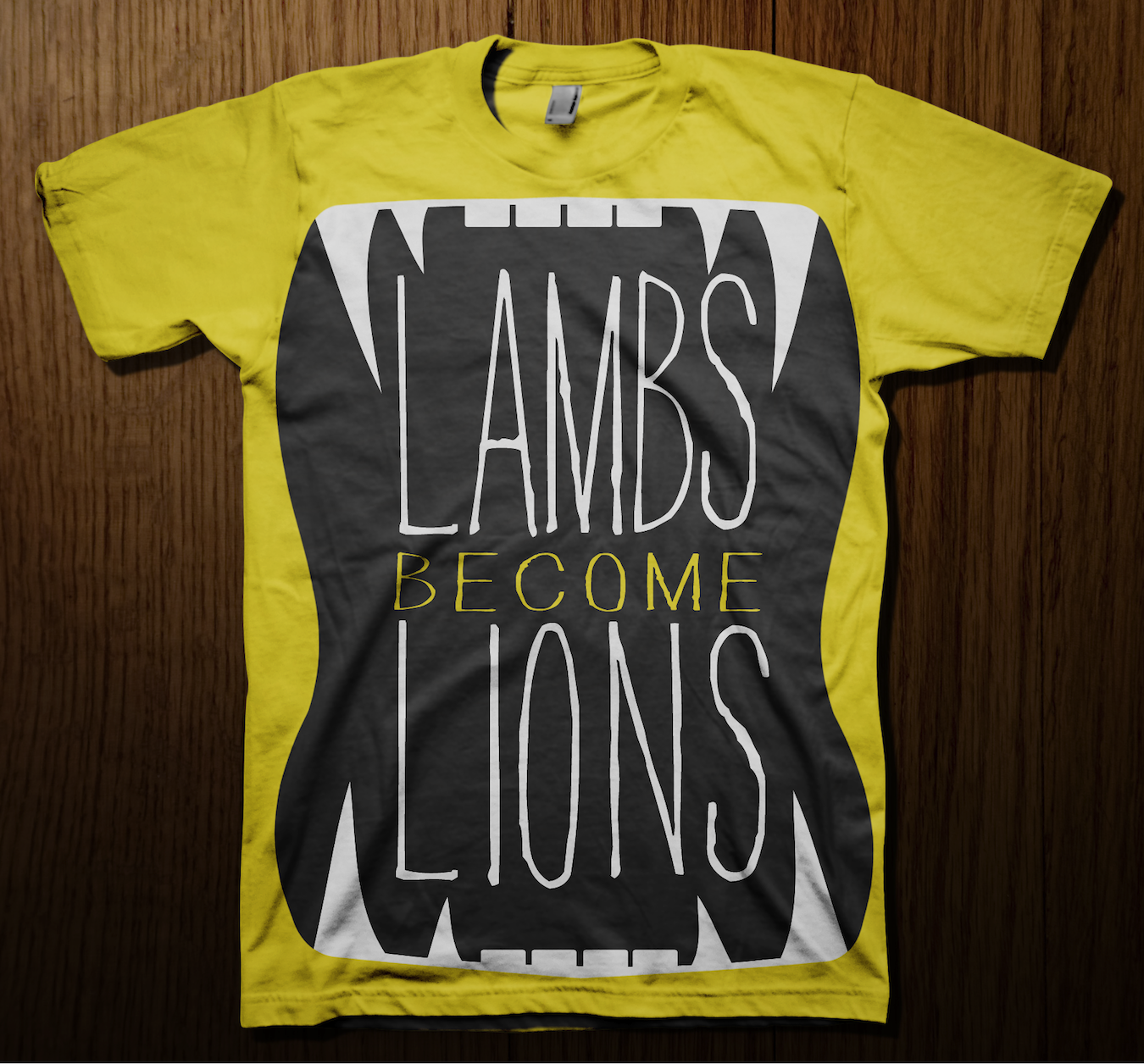 Lambs Become Lions Tees